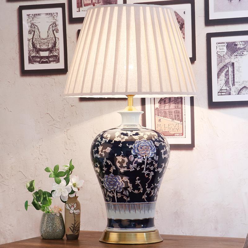 Wunderbar Großhandel Schlafzimmer Vintage Tischlampe China Wohnzimmer Tischlampe Für  Hochzeit Dekoration Keramik Kunst Perlen Von Butao, $572.05 Auf De.Dhgate.
