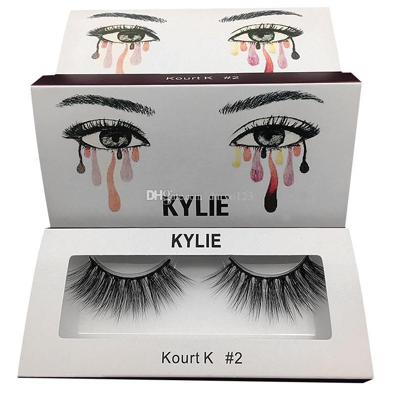 New Kylied False Eyelashes 20 Model Eyelash Extensions Handmade Fake