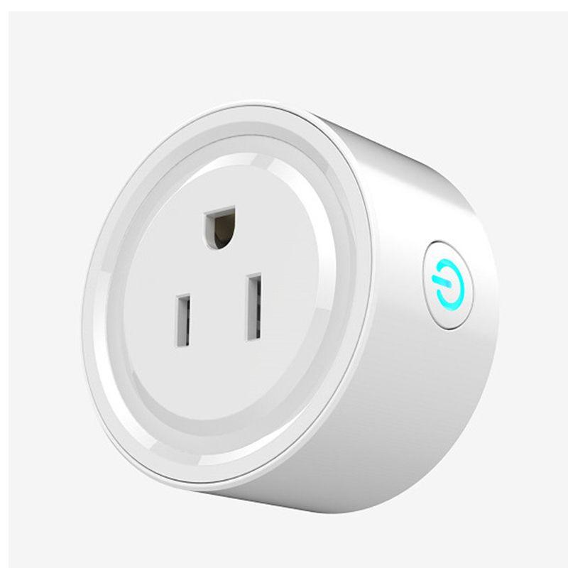 2018 Wifi Smart Socket Plug Mini Smart Outlet Work With Alexa Echo ...