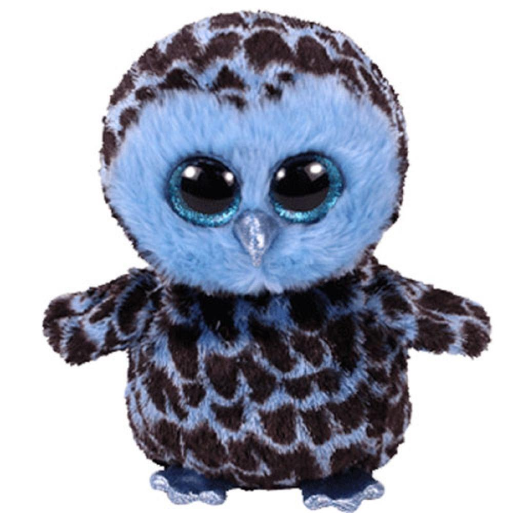 49dc1f31785 2019 Pyoopeo Ty Beanie Boos 6 15cm Yago The Blue Owl Plush Regular Stuffed  Animal Collection Doll Toy With Tags From Begonior