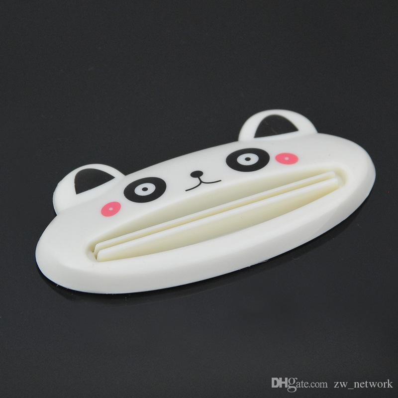 Dessin Animé Mignon Animal Dentifrice Squeezer Tube Multifonction Titulaire Roulant Squeezer Accueil Produits de Bain Tube De Bande Dessinée Dentifrice Distributeur