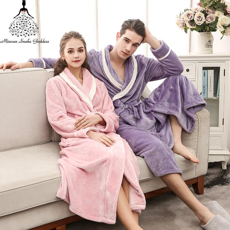 47699cae3b 2019 Women S Robe Warm Sexy Winte Bathrobe Women Cotton Robe Women S  Bathrobe Dressing Gowns For Women Home Gowns Sleepwear Clothes From  Piaocloth