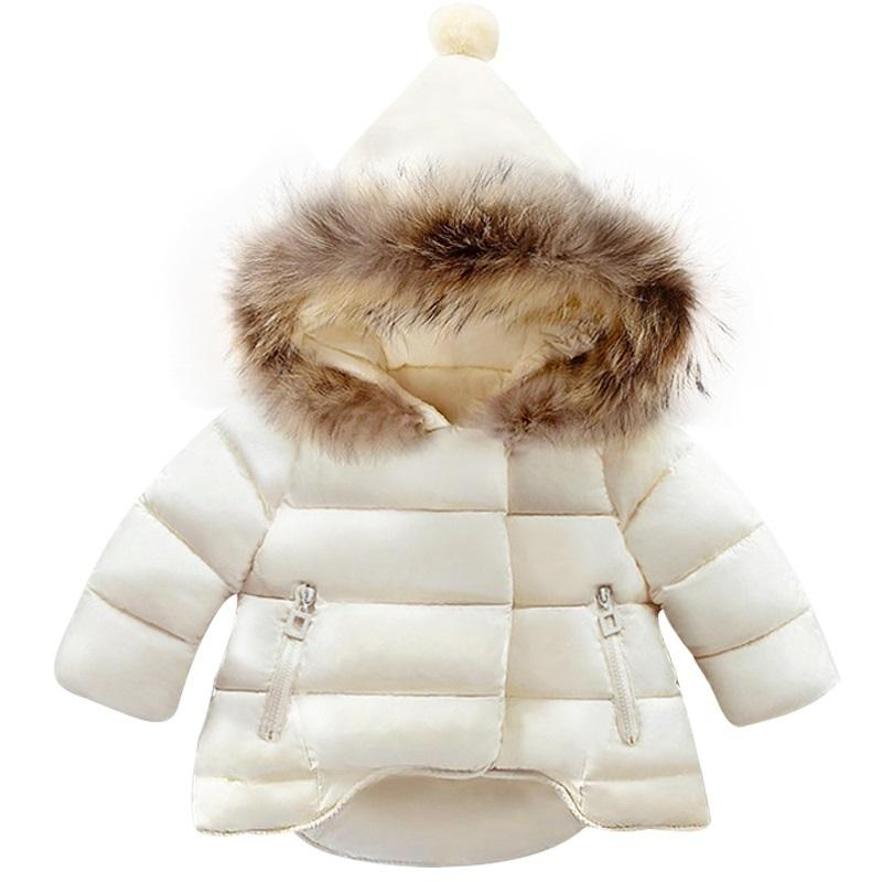 2da6cbda3e72 Children Coat Baby Girls Winter Coats Long Sleeve Coat Girl S Warm Baby  Jacket Winter Outerwear Cartoon Fleece Y1892112 Toddler Boy Jacket Youth Boys  Winter ...