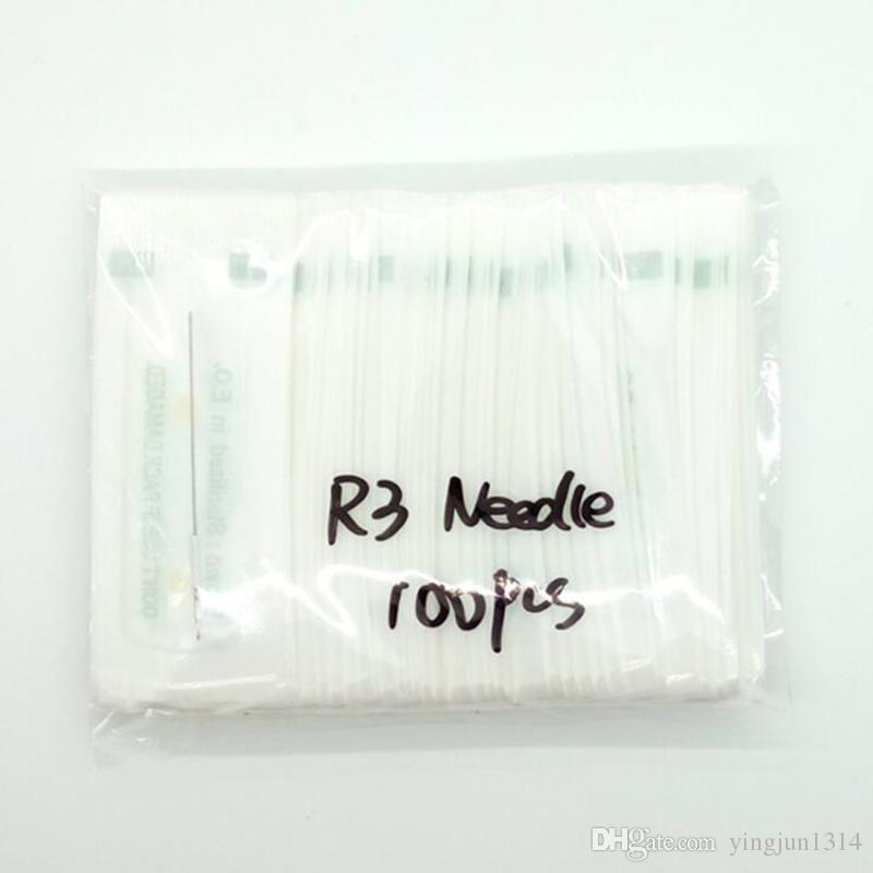 3RL 전통적 메이크업 바늘 멸균 된 문신 바늘 영구 화장 용 기계를위한 라운드 3 0.35x50 mm