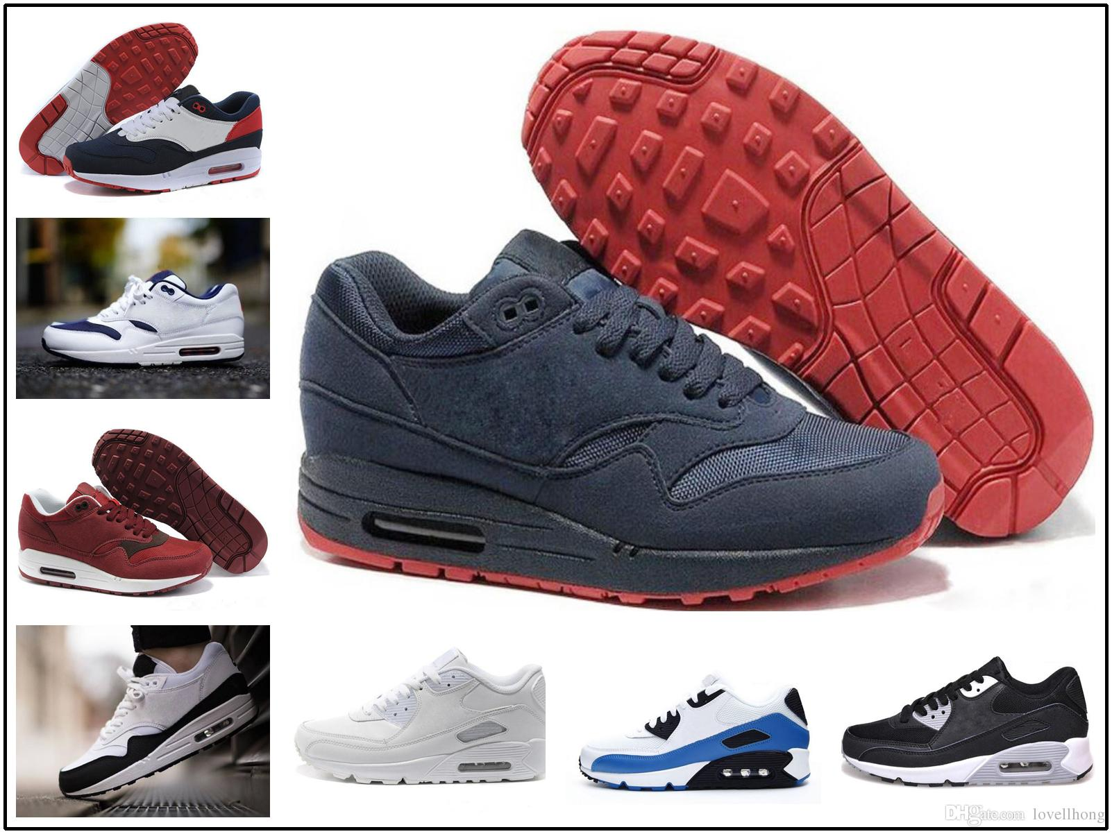 HombresHombre Deportivas Teje Zapatillas Max 1 Calzado Airmax Diseño Moda Zapatos Air Para Nike Casuales Atlético 87 Nuevo Ultra kTPuwOXZli