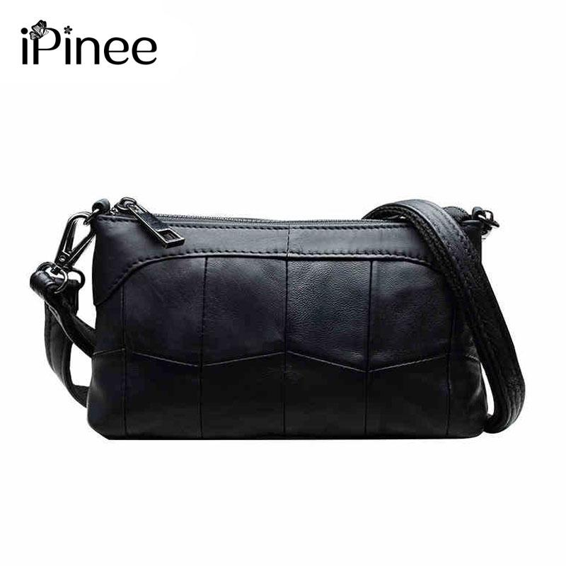 d39eb614efb7 IPinee Enuine Leather Clutch Bag Small Soft Leather Handbag Women Fashion  Cross Body Bag Laides Shoulder Bags Branded Bags Handbag Sale From Smart78