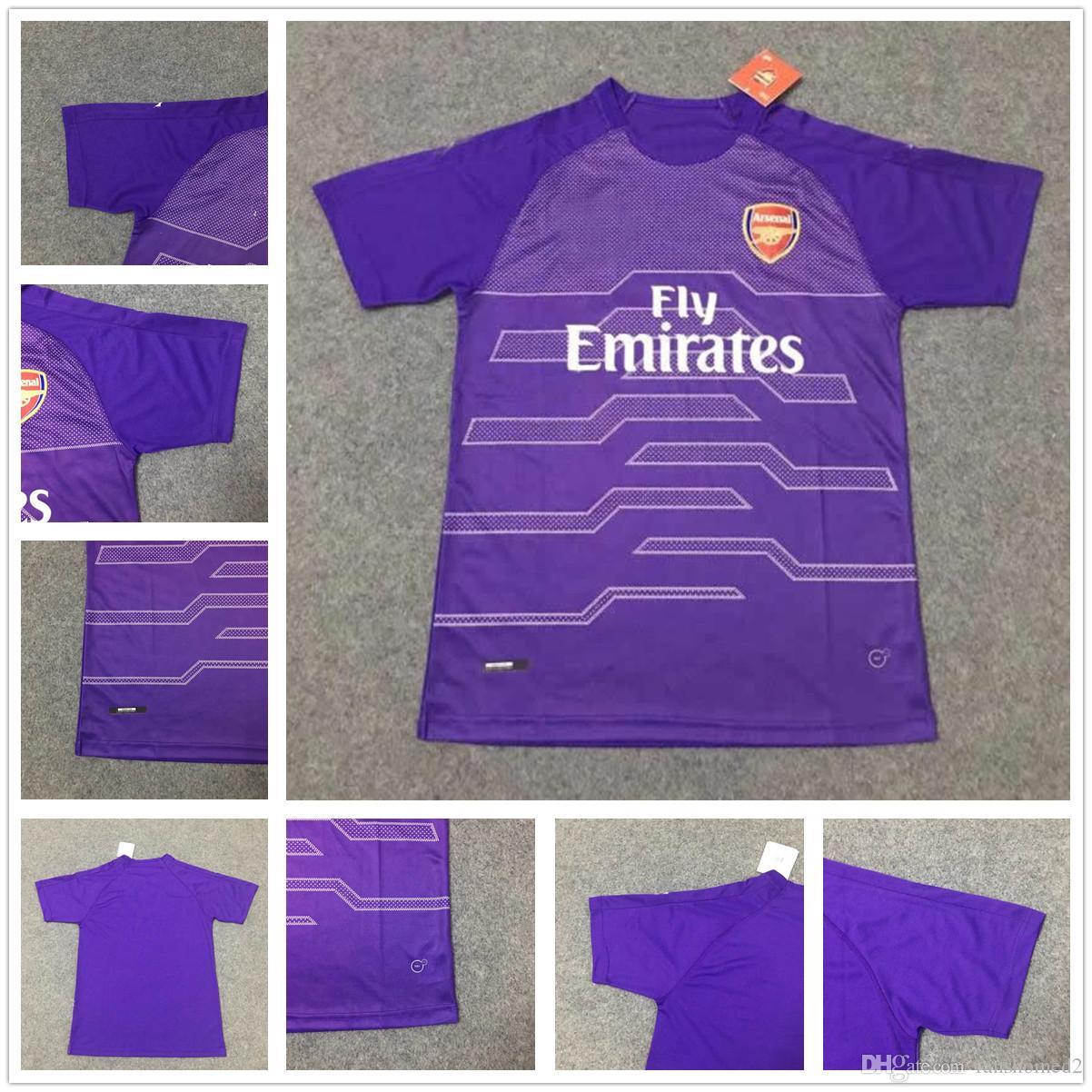online store 5779c 9a42a ireland czech 1 cech purple goalkeeper long sleeves soccer ...