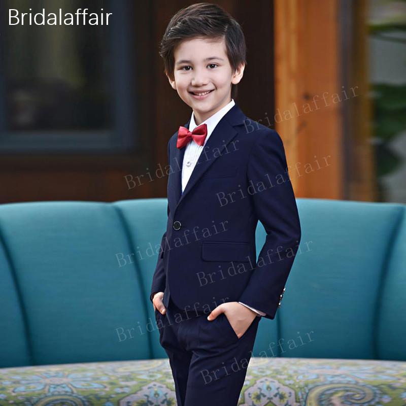 promo code 8edf4 b50c4 Acheter Kuson Costumes Costumes Blazer Kid Burgundy Garçon De Mariage  Tuxedo Enfants Vêtements Set Costume Formel 2018 Veste + Pantalon + Gilet  De  113.31 ...