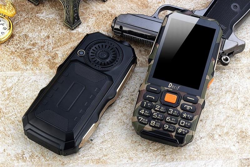 "Hot 9800mAh Cell Phone DBEIF D2017 TV 3.5"" handwriting touch screen flashlight power bank dual sim card FM mobile phone"