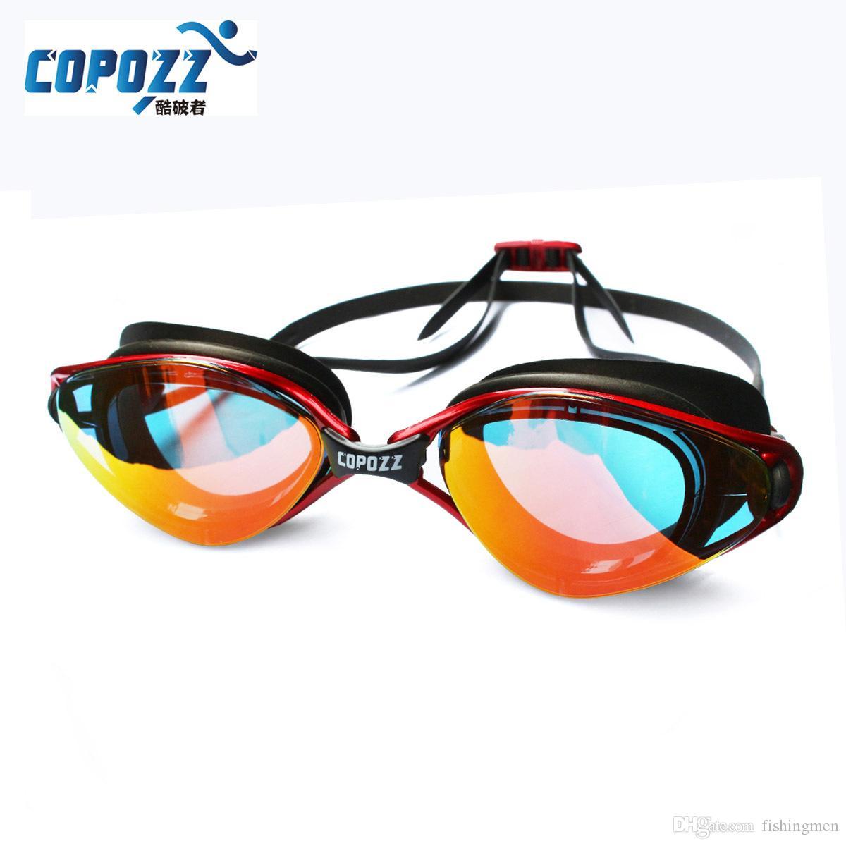 5f5bb51cdee Copozz New Professional Anti-Fog UV Protection Adjustable Swimming ...