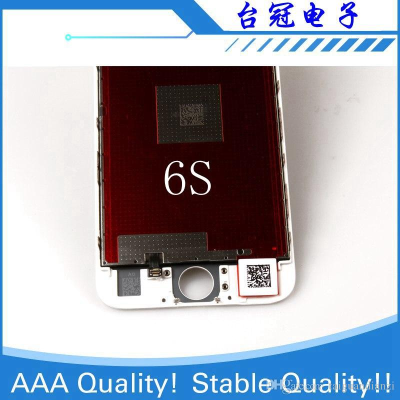 IPhone 6 s Için 100% Orijinal Ekran LCD Ekran LCD Yedek Ekran IPS Ekran Dokunmatik Kalite 6 s LCD
