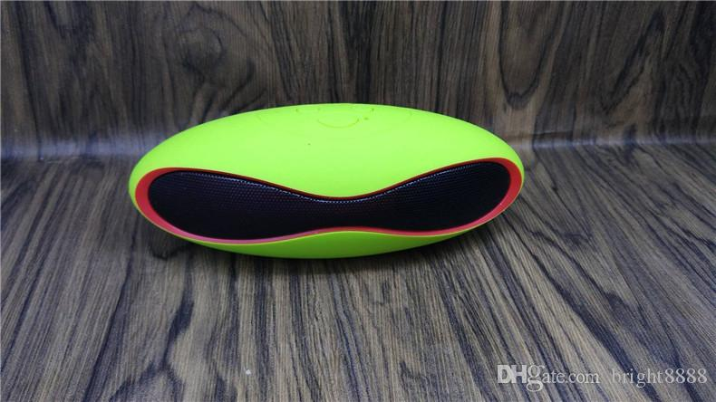 X6 Rugby Wireless Bluetooth Speaker Mini Rugby Card Audio Portable Gift Speaker