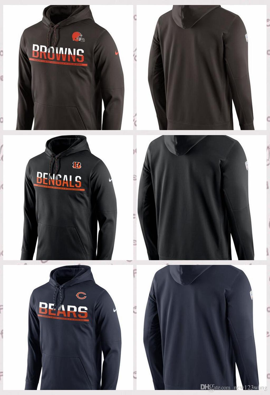 Cincinnati Bengals Chicago Bears Cleveland Browns Sideline Circuit ... c121c5848