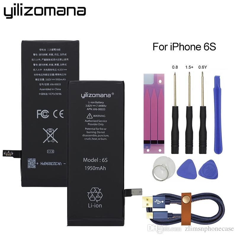 a6eb21cf9bb Cargar Teléfono YILIZOMANA Batería Original Original De Alta Capacidad  1950mAh Para Apple IPhone 6s 6S Baterías De Li Ion De Repuesto Original +  ...