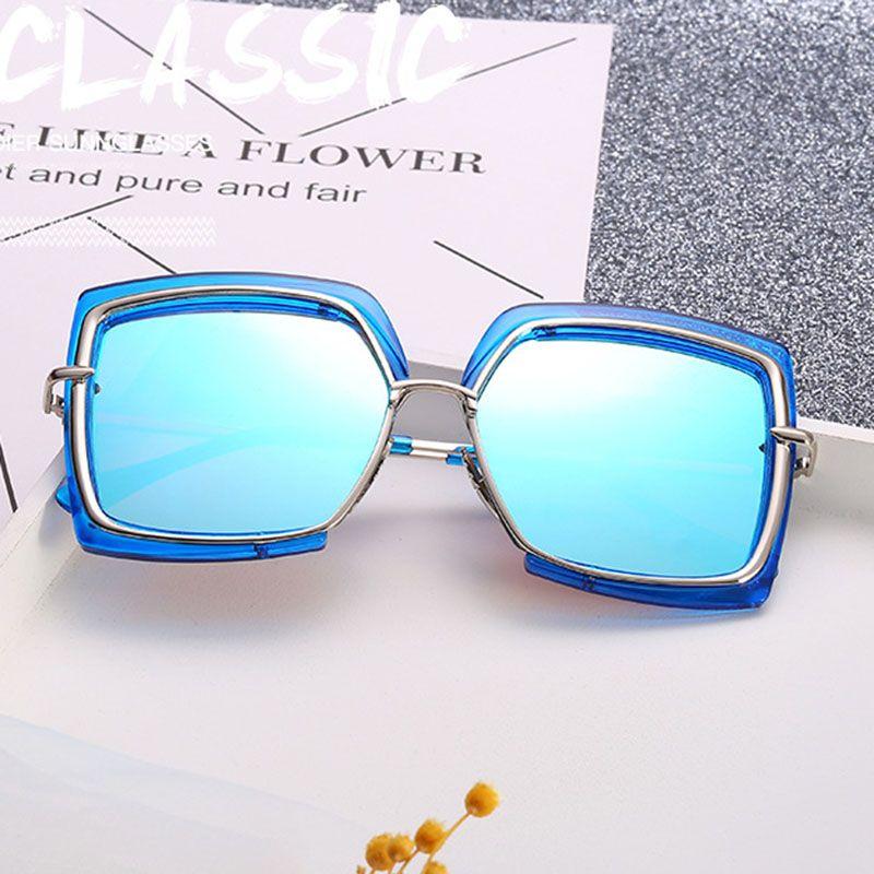 f1be01e890 The New Metal Inner Circle Fashion Half Frame Round Face Frame Fashion  Irregular Sunglasses Designer Glasses Sunglasses Uk From Shenzhenlili