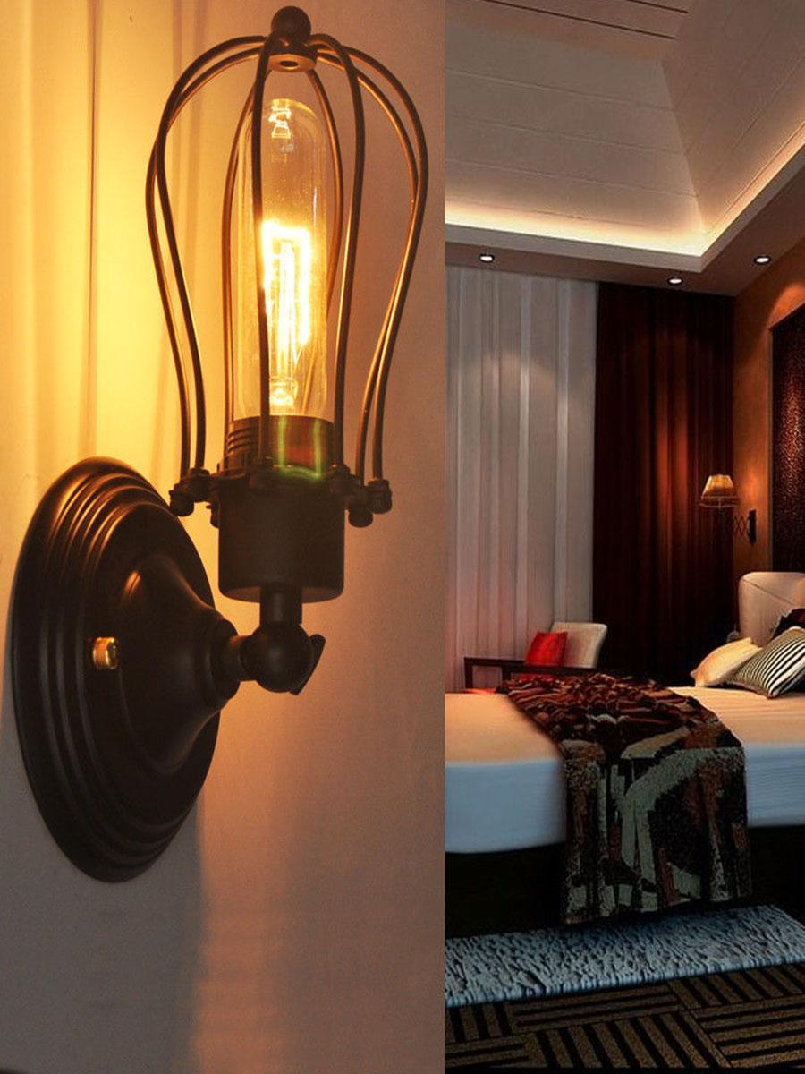 Lights & Lighting 3 Color Retro Loft Industrial Adjustable Wall Lamps Sconce E27 Ac 110v 220v Led Lighting Wall Lights For Living Room Bedroom Led Lamps