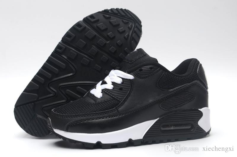 8f3daf244e2 Compre 2018 Nike Air Max 90 Crianças Sneakers Presto 90 II Crianças  Esportes Ortopédicos Juventude Crianças Formadores Meninos Meninas Meninos  Ao Ar Livre ...