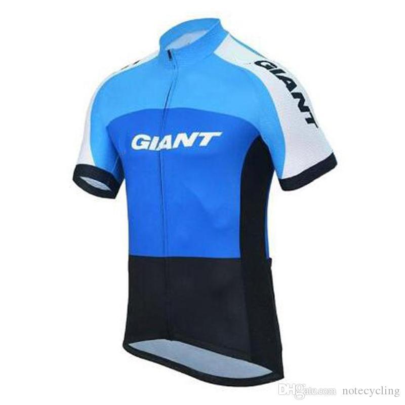 GIANT équipe cyclisme manches courtes jersey bavette shorts sans gilet ensembles vente chaude jersey de cyclisme Ropa Ciclismo taille à séchage rapide XS-4XL A41407