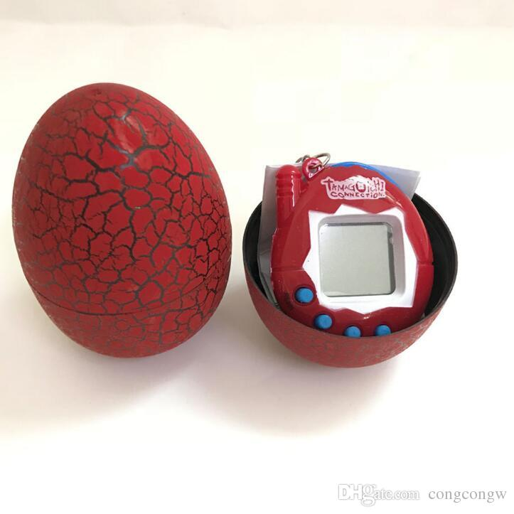 Dinosaur Egg Tamagotchi Virtual Digital Electronic Pet Game Machine Tamagochi Toy Game Handheld Mini Funny Virtual Pet Machine Toys