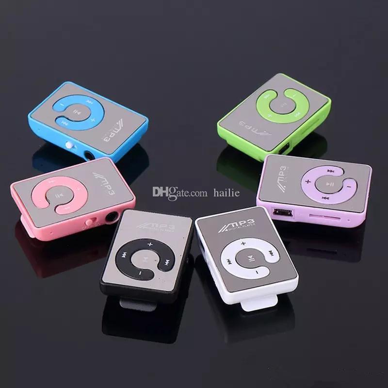 2017 новый мини клип USB цифровой Mp3 музыкальный плеер Спорт MP3 с Micro SD TF слот для карты MP3-плеер только плеер без USB Бесплатная доставка