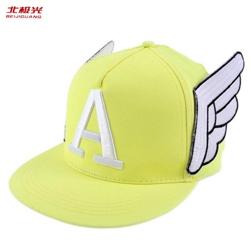 f34fb52c Summer Letter Baseball Caps Sun Hats Women Spring Snapback Embroidery Caps  Adjustable Outdoor Cap Child & Adult Angel Wings Hat Leather Hats The Game  Hats ...