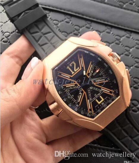 montre-bracelet pour hommes cool bracelet-bracelet de caoutchouc pour le meilleur cadeau.