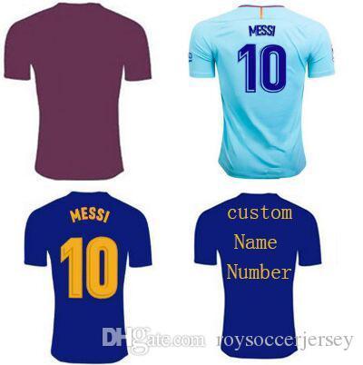 Thailand AAA LIONEL MESSI Soccer Jerseys 2018 COUTINHO 7 Camisetas De  Futbol SUAREZ Jersey 17 18 ... 2018 spain long sleeves red morata asensio  home ... 4598d5dd0