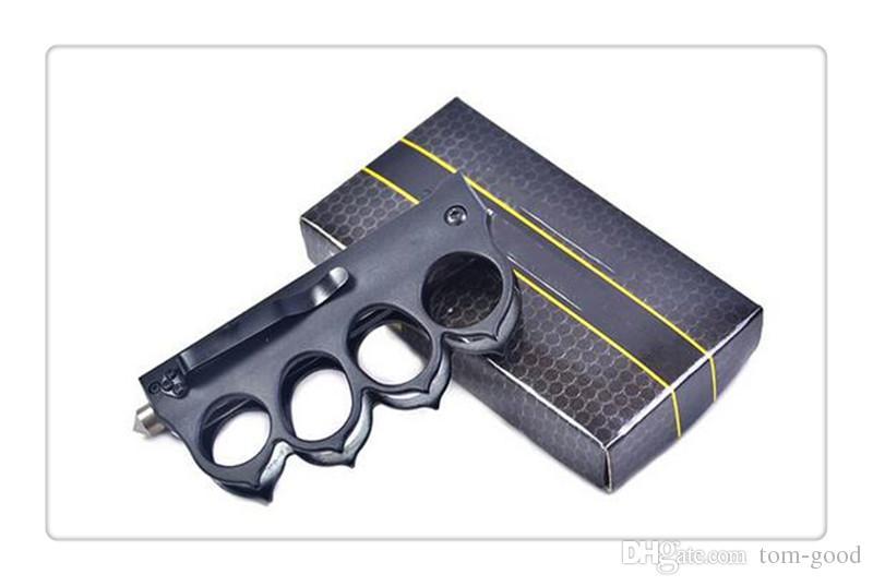 Black pocket folding knife Tactical Knives outdoor survival camping knife blade High quality 22cm