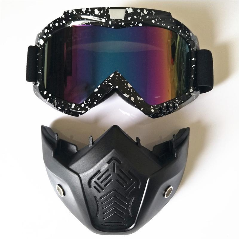fcf31ba33e3 Mounchain New Ski Goggles Detachable Winter Snow Sports Snowboard Goggles  Anti-fog UV Protection Men Women Youth Skiing Skating Skiing Eyewear Cheap  Skiing ...