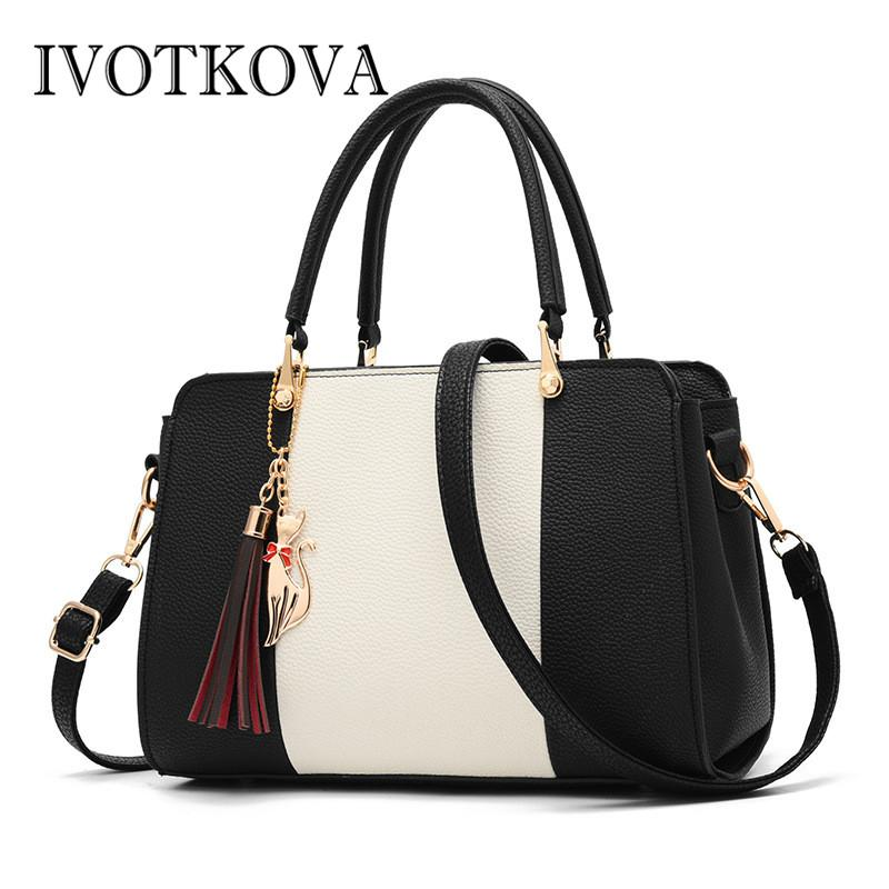 4fde19eae7 IVOTKOVA Ladies Handbag From China Online Retailer Pattern One Shoulder Bag  Women Big Crossbody Messenger Bags Fox Pendant Branded Handbags Ivanka  Trump ...
