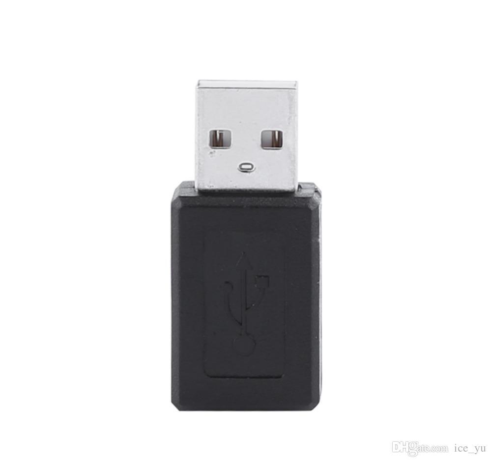 Conector hembra del adaptador del convertidor del varón de USB 2.0 de alta velocidad a macho a diseño simple clásico femenino ¡En stock!