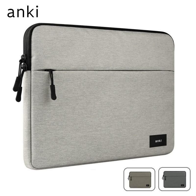 17c21f1086021 2018 New Brand Anki Sleeve Case For Laptop 11 ,12 ,13 ,14 ,15 ,15.6 inch,  Bag For Macbook Air Pro 13.3 ,15.4 ,Free Drop Shipping