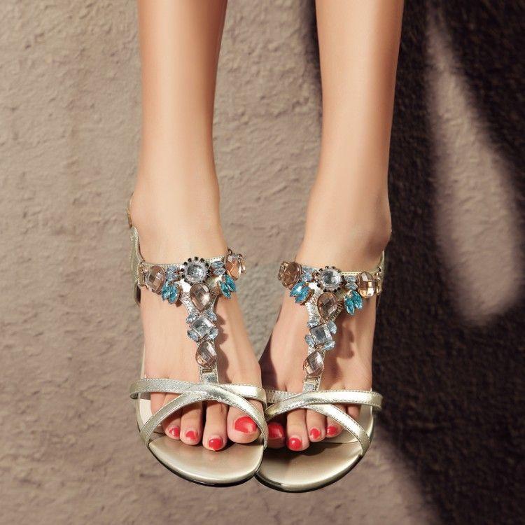 Rhinestones Chain Shoe Decoration Women High Heel Shoes Accessories Fashion Female Sandals Slippers Shoe Decorations