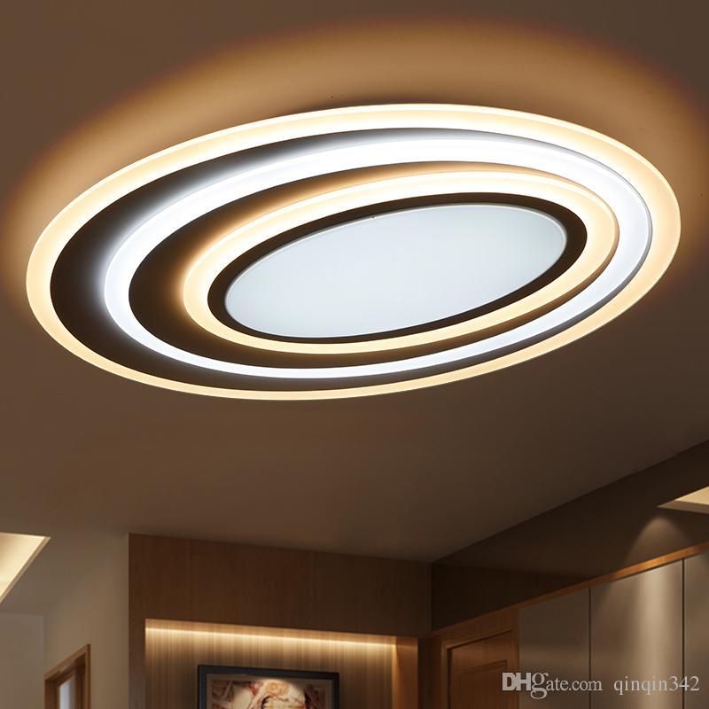 Dimmen Fernbedienung Moderne Led-deckenleuchten Für Wohnzimmer Schlafzimmer  3 Farbtemperatur Neue Design Deckenleuchte Leuchten