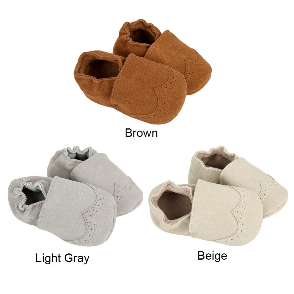 d1a65ad87e88 2019 Hot Newborn Baby First Walk Shoes Girl Boy Nubuck Leather Prewalker  Anti Slip Shoes Soft Bottom Prewalkers From Begonior