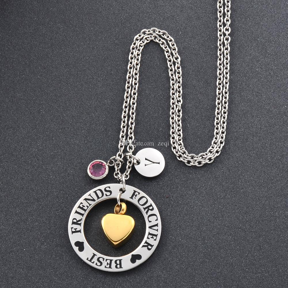Free engrave heart stainless steel Cremation Pendant Necklace Ash Holder Mini Keepsake Memorial Jewelry for women