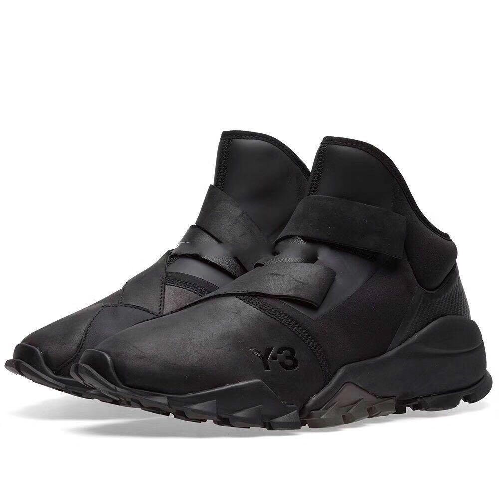 5a621421b0d22 Acheter Y 3 Ryo Cblack Hommes Haut Haut Sneakers 2017 Nouvelle Arrivée En  Plein Air Casual Bottes Pour Hommes Y3 Chaussures Avec Boîte De  98.5 Du ...