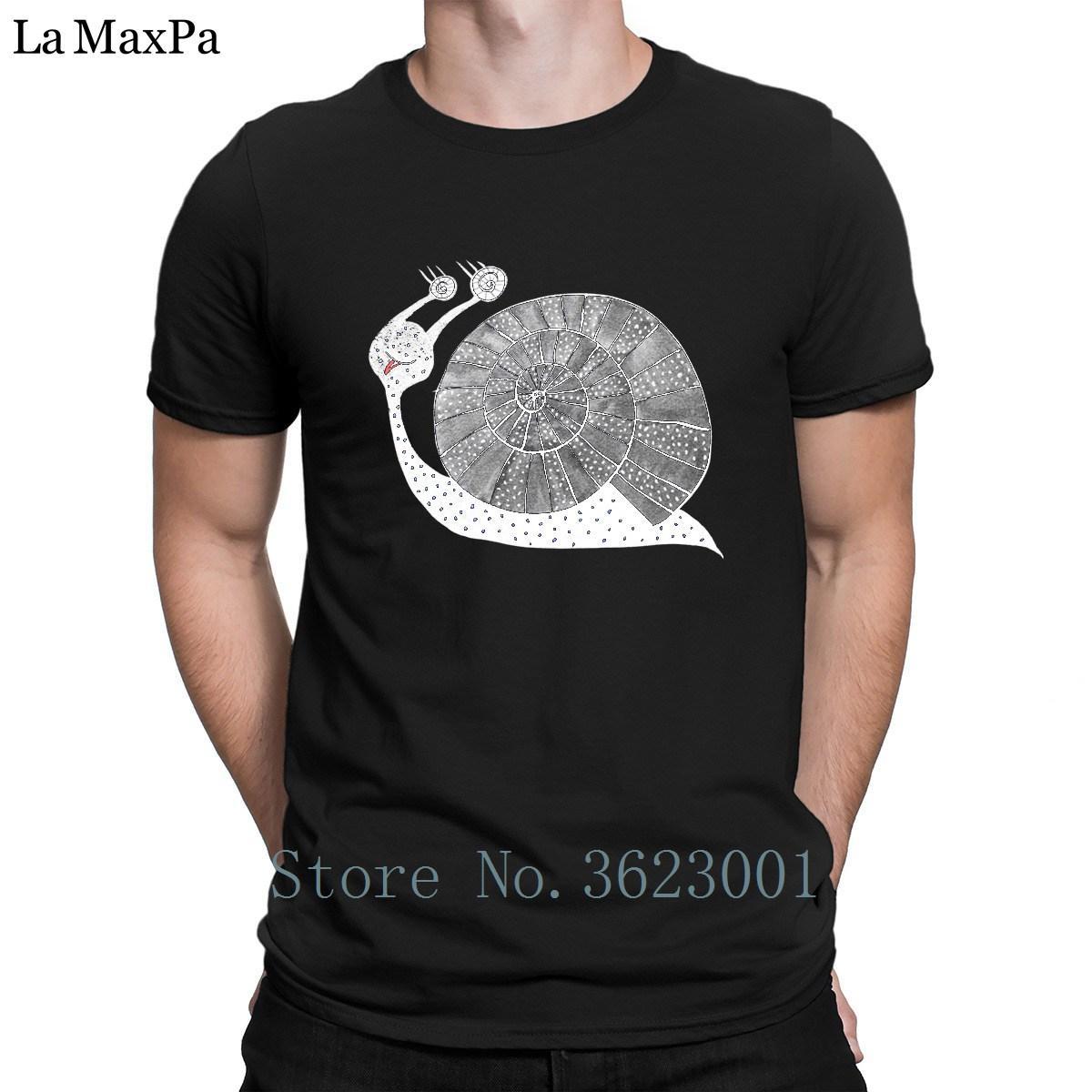 Personalizzate Tshirt Animato Lettere Uomo Cartone Acquista Lumaca wPkXTiuOZl