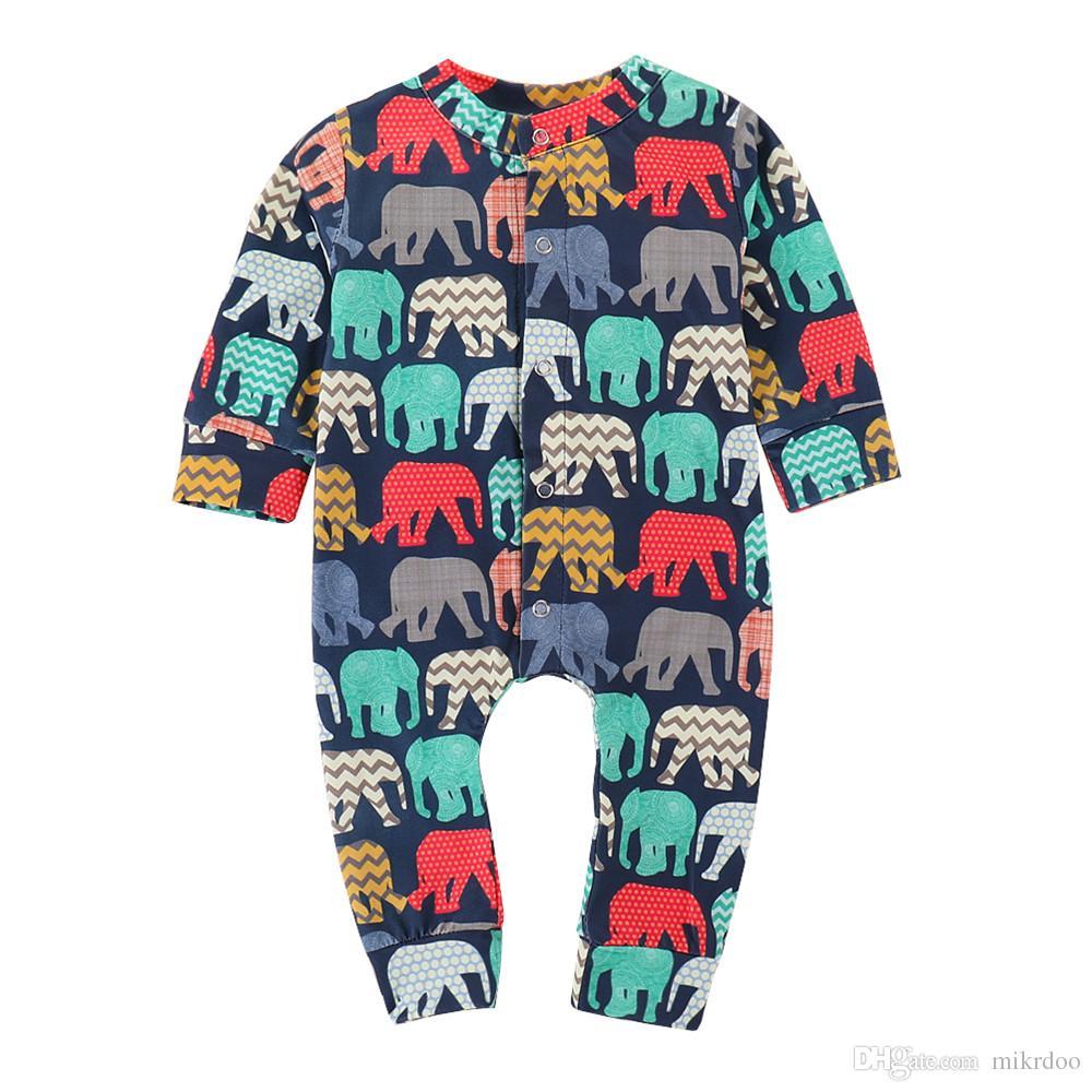 dbe2aeaf13e0 2019 Mikrdoo Toddler Newborn Baby Boys Girls Clothes Colorful ...