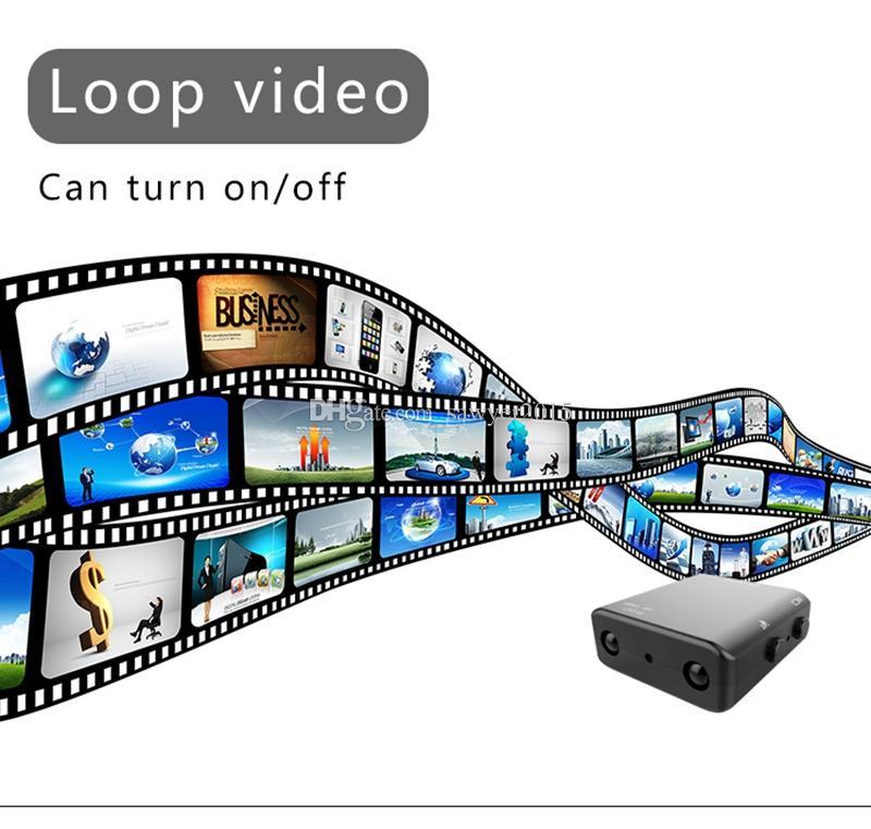 XD IR-CUT Mini-caméra 1080P Full HD Camcorder Vision nocturne infrarouge Micro-caméra de sport Détection de mouvement MINI DV DVR