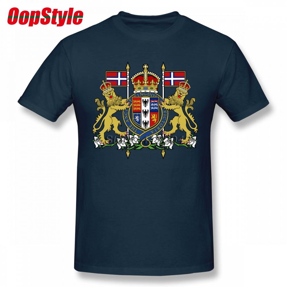 bc09ac30d3 Royal Coat Of Arms Of The Victorian Empire T Shirt For Men Short Sleeve  Cotton Plain Custom Tee Buy Cool Shirts Ordering T Shirts From Lbdapparel