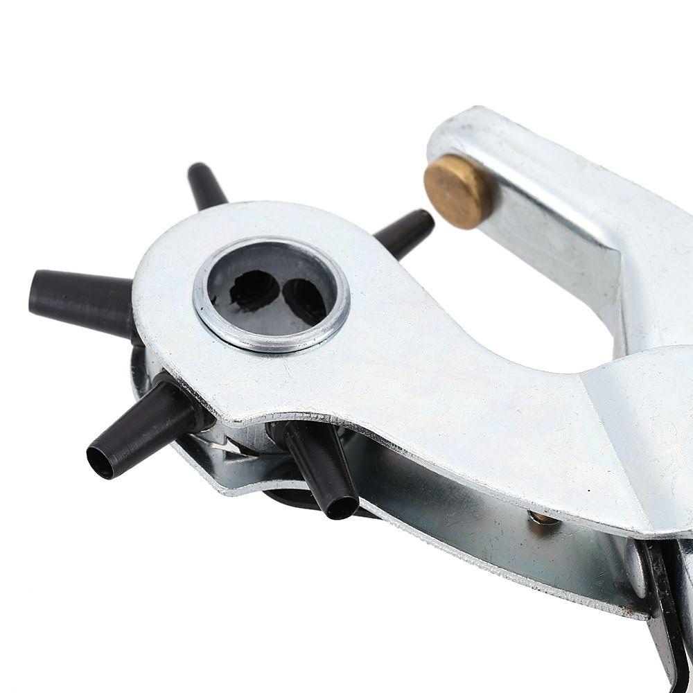 Freeshipping هول اللكم آلة 9 '' لكمة ذو طيات جولة هول ثقب أداة جعل ثقب الناخس ل watchband بطاقات الجلود حزام