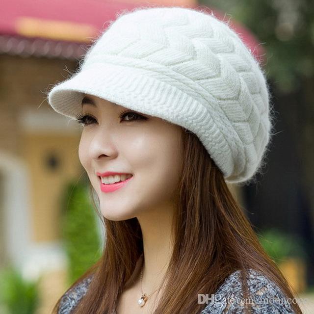 купить оптом зимние шапки для женщин вязать шапки крючком шляпа меха