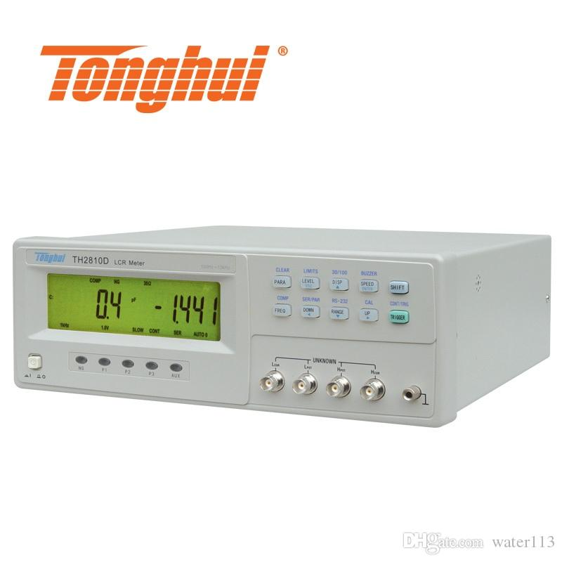CE Approval LCR meter TH2810D with LCD display, Basic accuracy 0 1%,  frequency 100hz, 120hz, 1khz, 10khz