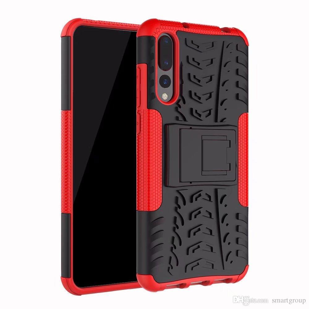 Etui Cuir Telephone Pour Huawei P20 Pro Cas Étanche Housse De Protection Étui De Protection Blindé Hybride Robuste Pour Huawei P20 Pro Etui Pour ...