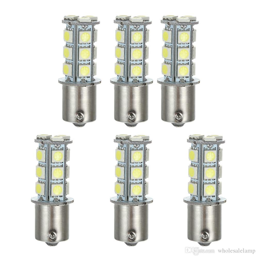 1156 1157 18SMD 5050 LED Replacement Bulb for Car Interior Turn Backup Parking Side Marker Lamp Lights