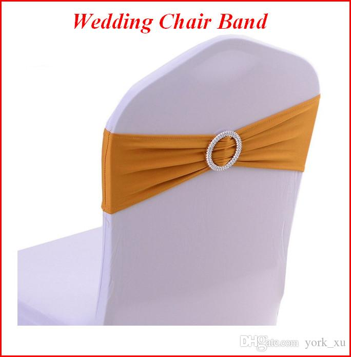 Super Wedding Banquet Chair Covers Decorative Strip Spandex Chair Cover Stretch Band With Buckle Slider Sashes Bow Decoration Ouc055 Unemploymentrelief Wooden Chair Designs For Living Room Unemploymentrelieforg