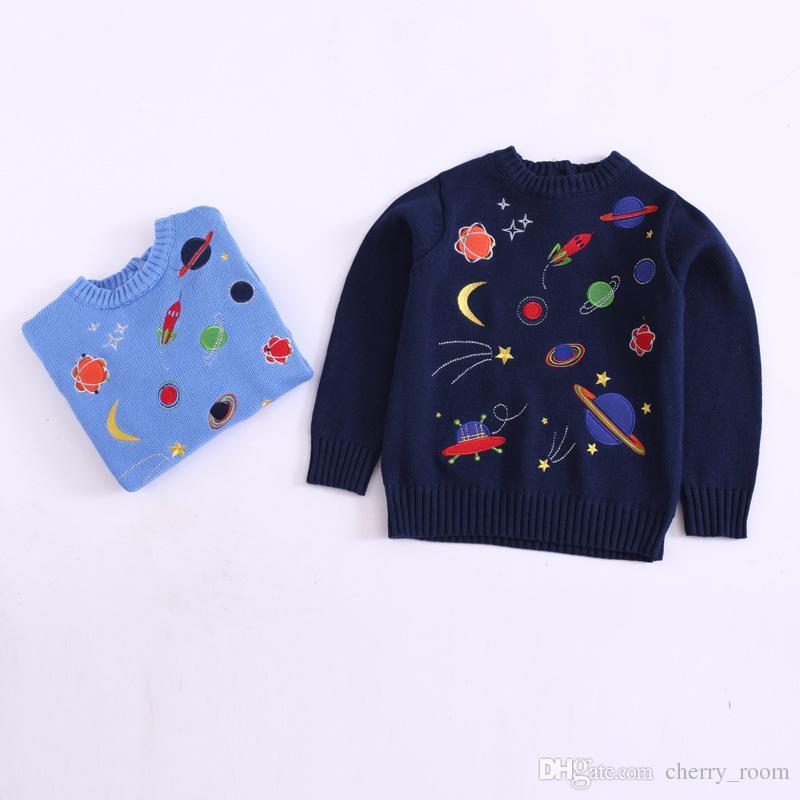 Großhandel Ins Kinder Jungen Pullover Pullover Herbst Universum ...