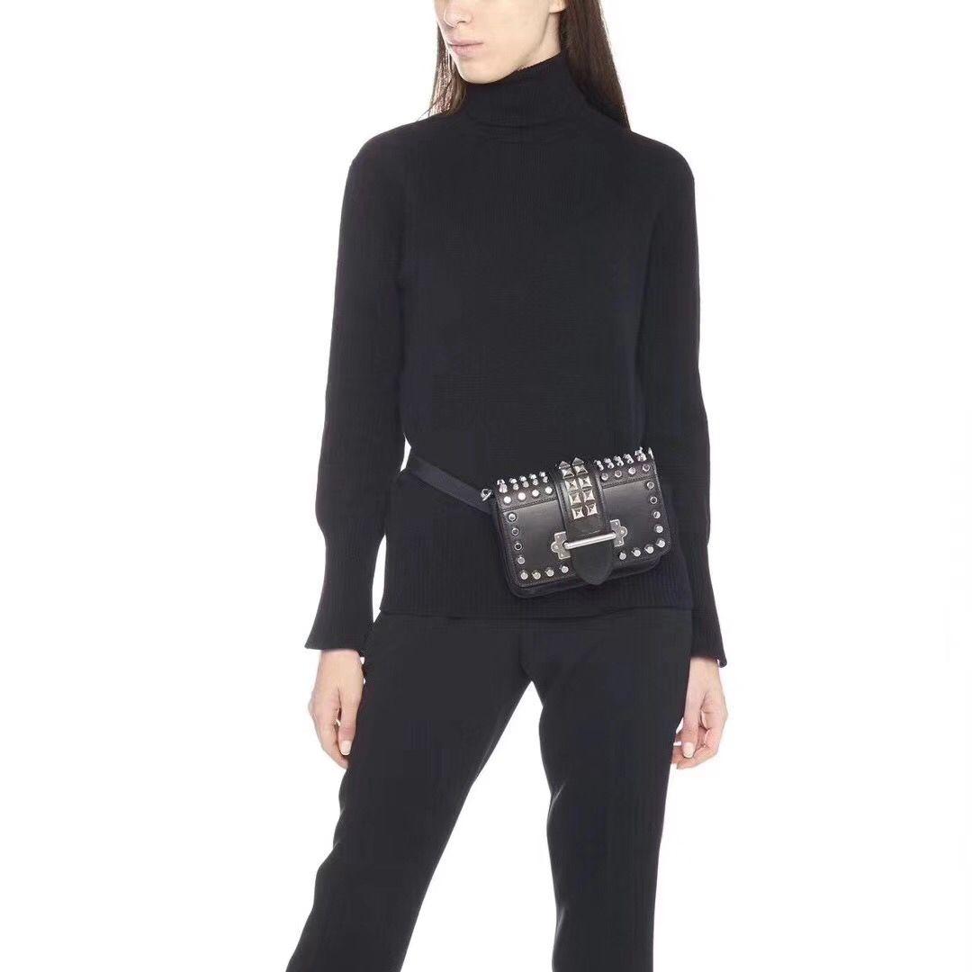 Cahier Bag Real Leather Willow Nail Element Cross Bag Lady Chain Single Shoulder  Vintage Rivets Tide Bag Size 18 12.5 4.5cm Satchel Handbags White Handbags  ... d9bde3d99a652