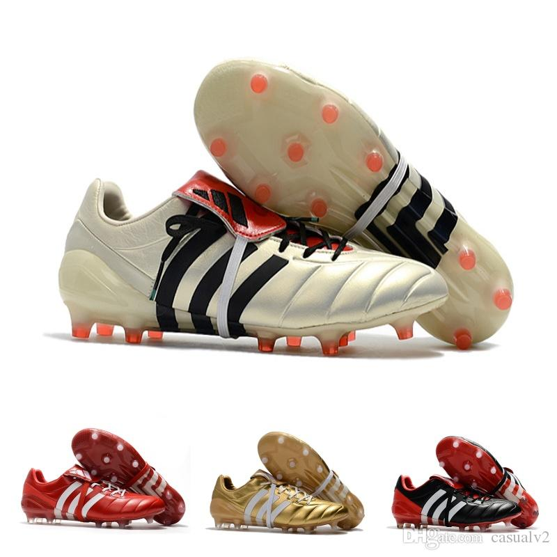 33d2cdd97 ... discount 2018 adidas predator mania ace 17 purecontrol champagne fg  soccer boots football boots red white